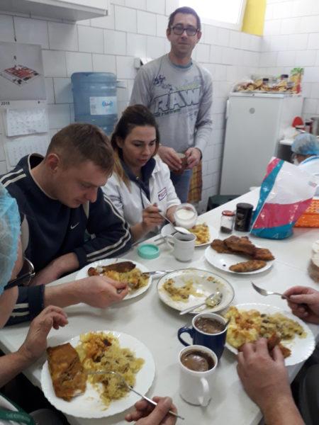 Wigilia dla pracowników z Ukrainy